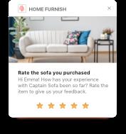 Ratings - Push Notification
