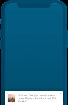 Simple Footer - In-App Notification