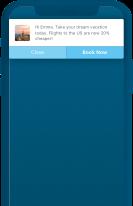 Simple Header - In-App Notification