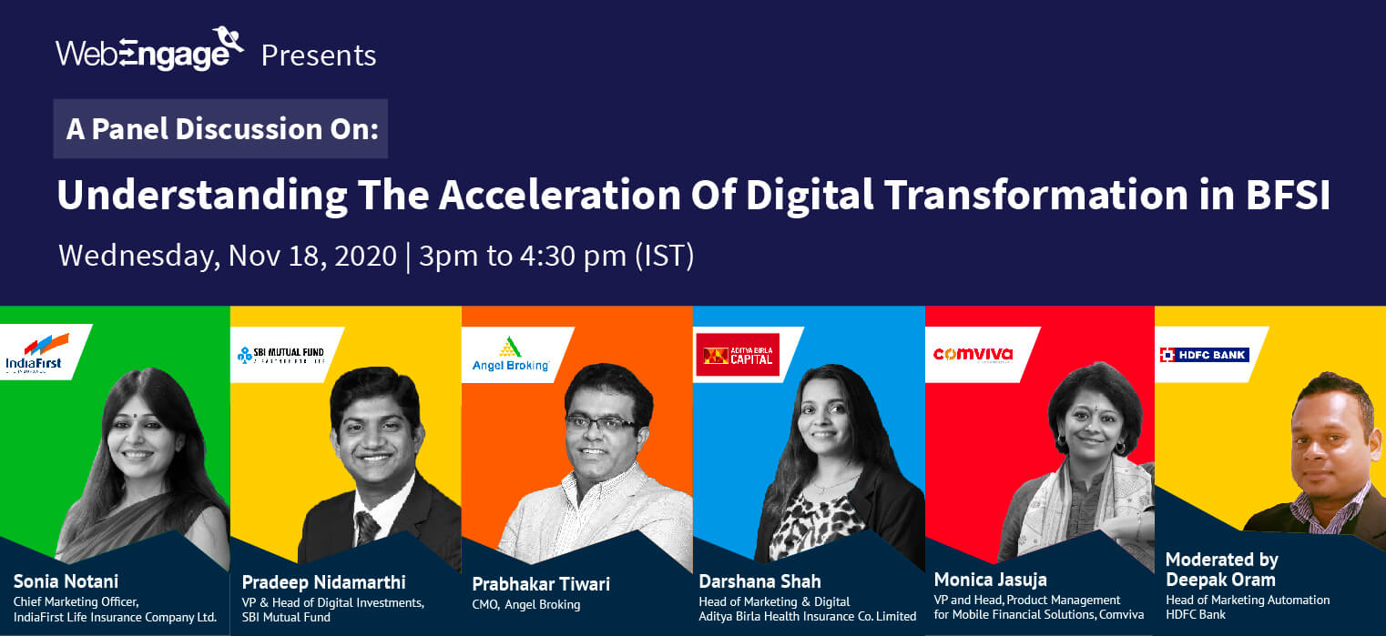 Understanding The Acceleration Of Digital Transformation In BFSI