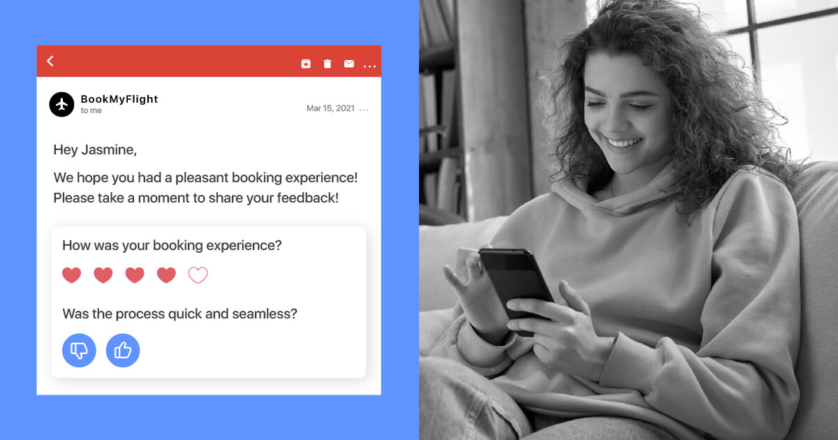 Increase user engagement using AMP for email