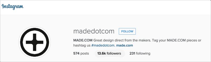 Made.com on Instagram
