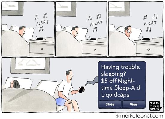 Irresponsible marketing- Marketoonist