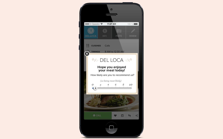 customer feedback in app notification