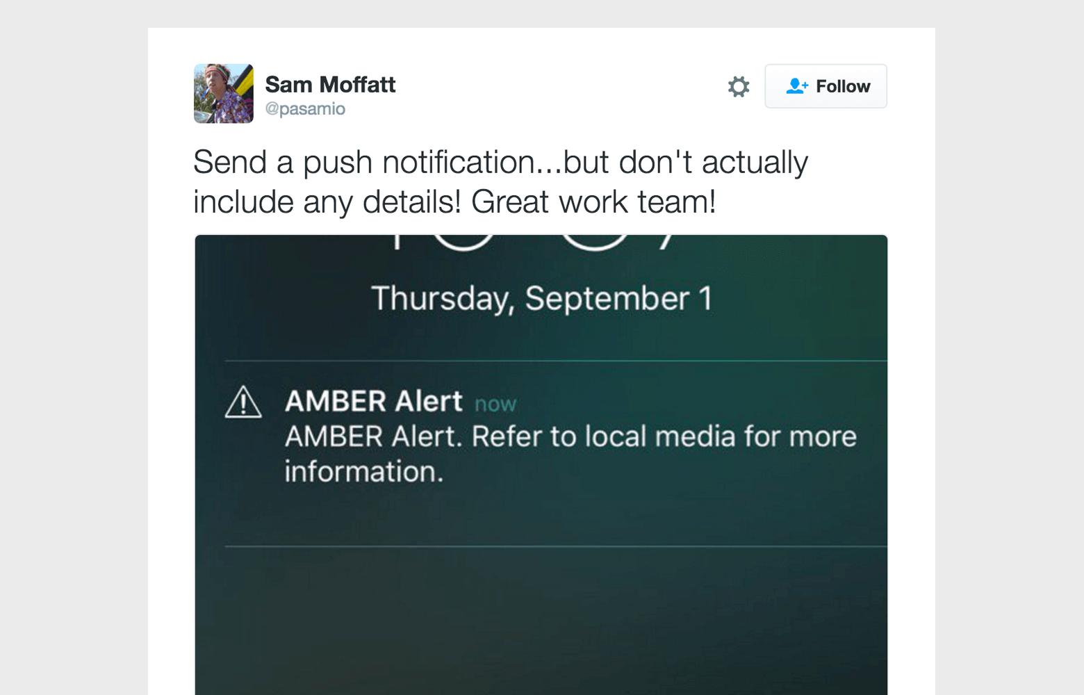 the lazy push notification