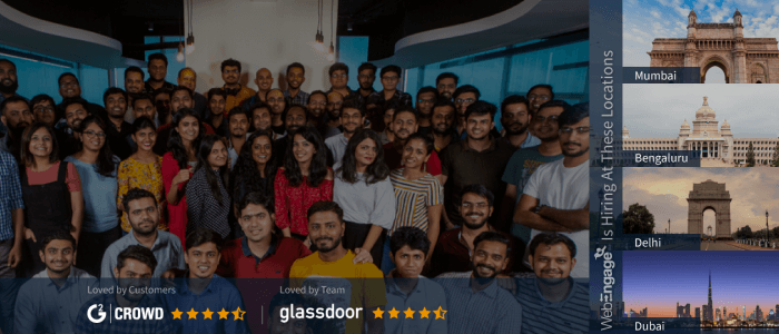 WebEngage To Increase Its Headcount By 20% In Q1 2020