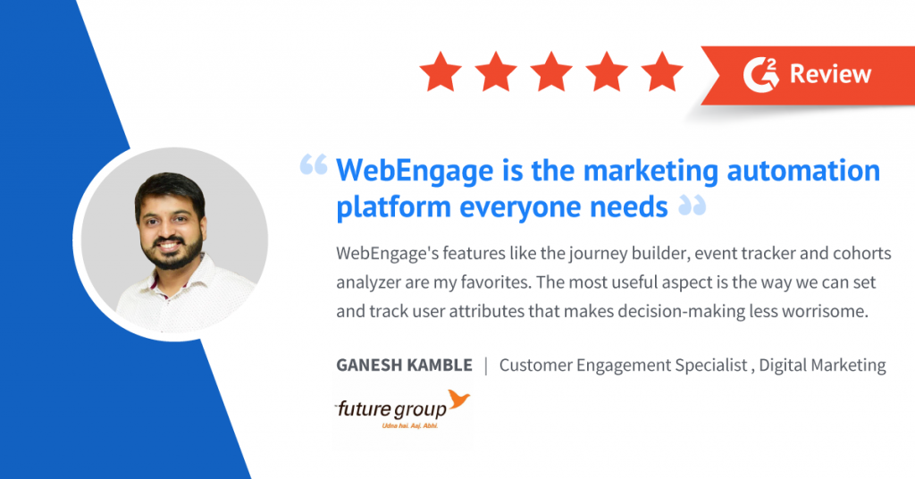 Ganesh Kamble | Customer Engagement Specialist, Digital Marketing - Future Group