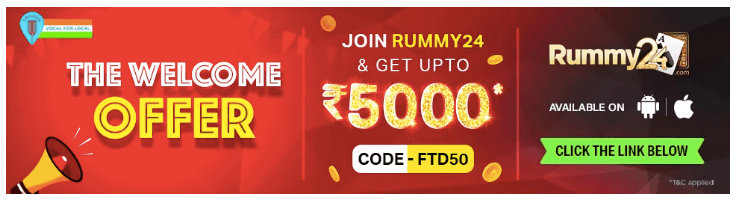 A welcome bonus ad appearing on keyword 'Rummy', might not be relevant for users who are already playing tournaments on your app