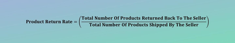 Product Return Rate Calculator