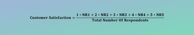 Customer Satisfaction (CSAT) Calculator