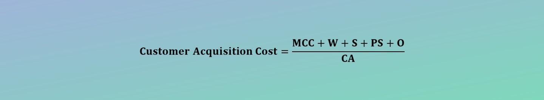 Customer Acquisition Cost (CAC) Calculator