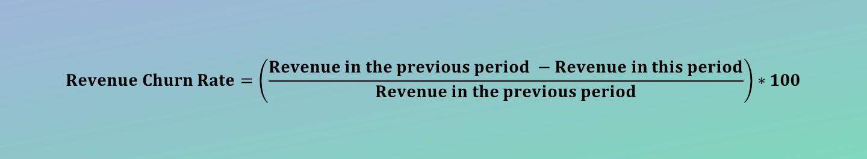 Revenue Churn Rate Calculator