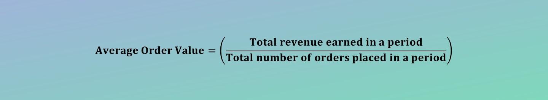 Average Order Value Calculator