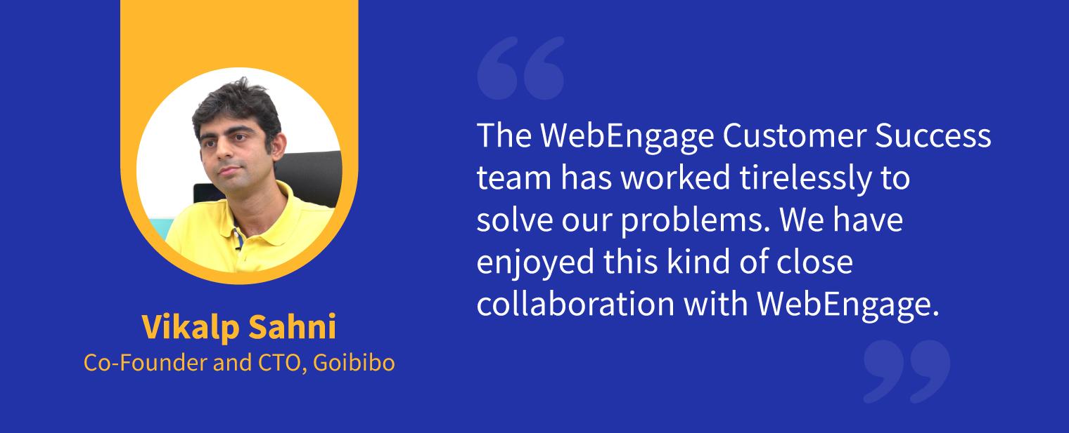 WebEngage Testimonial 2
