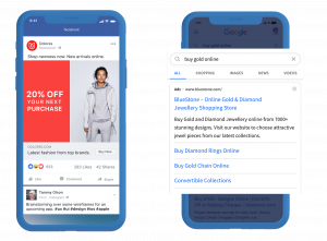 Facebook and Google Remarketing