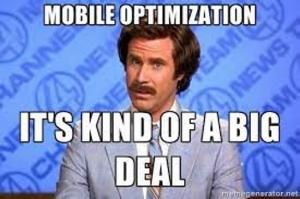 Mobile email optimization meme
