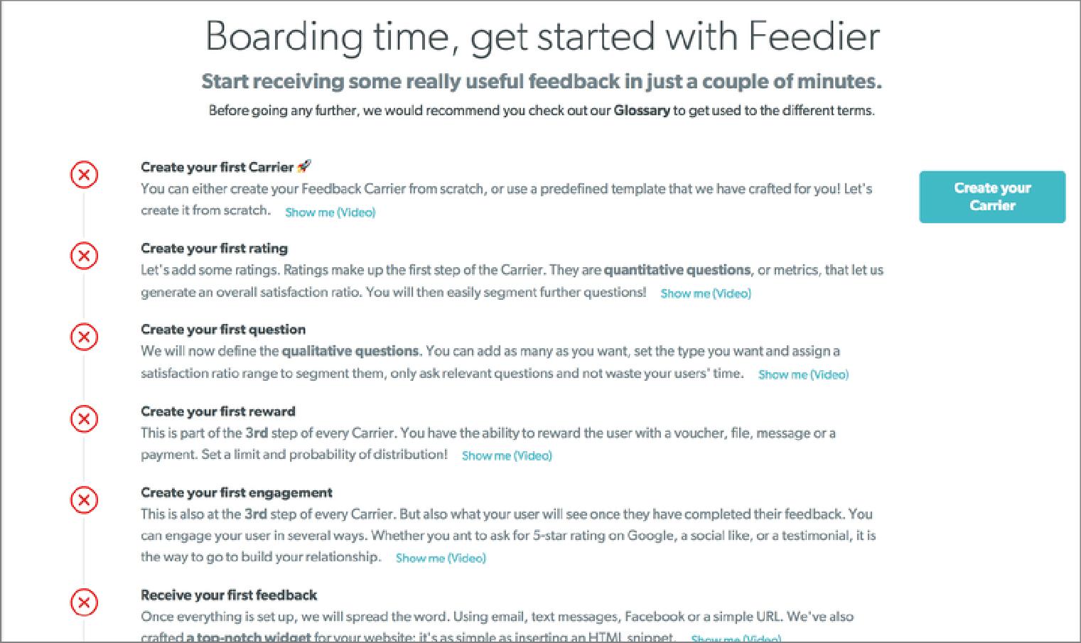 Feedier's Customer Onboarding Journey | WebEngage